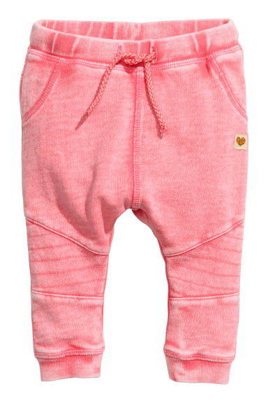 Joggers tipo biker - Rosa washed out - BAMBINO | H&M IT 1