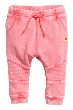 Pantalon de style motard - Rose washed out - ENFANT | H&M FR 1