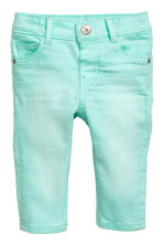 Jeans Slim fit - Mint green - Kids | H&M 1
