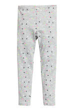 Jersey leggings - Grey heart - Kids | H&M 2