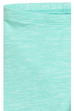 Jersey leggings - Mint green -  | H&M 3