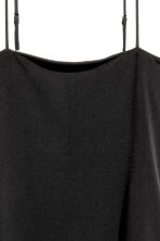 Body with thin shoulder straps - Black - Ladies | H&M 3