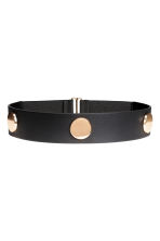 Wide waist belt - Black/Gold - Ladies | H&M 1