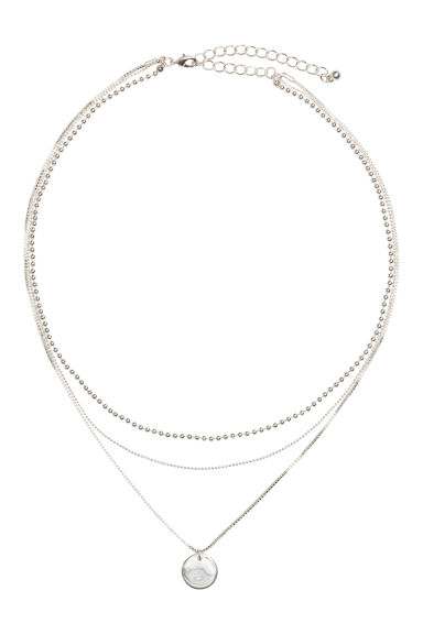 Collana a tre fili - Argentato - DONNA | H&M IT