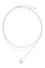 Three-strand necklace - Silver - Ladies | H&M CN 1