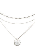 Three-strand necklace - Silver - Ladies | H&M CN 2