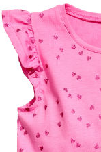 Jersey dress - Cerise/Heart - Kids | H&M CN 2
