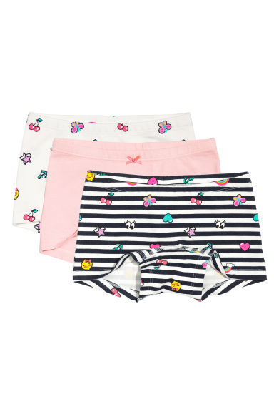 3-pack boxer briefs - Light pink - Kids | H&M