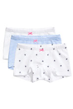 3-pack boxer briefs - Light blue/Striped - Kids | H&M CN 1