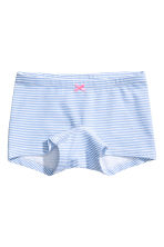 3-pack boxer briefs - Light blue/Striped - Kids | H&M CN 2