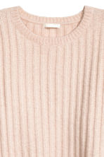 Knitted jumper - Powder pink marl - Ladies | H&M 3