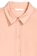 Long-sleeved blouse - Powder - Ladies | H&M CN 3
