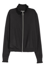 Zipped cardigan - Black -  | H&M 2