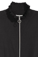 Zipped cardigan - Black - Ladies | H&M 3