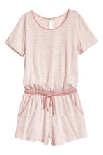 All-in-one pyjamas - Light pink/Striped - Ladies | H&M 2