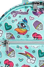 Patterned backpack - Turquoise - Kids | H&M 3