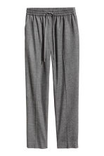 Pull-on trousers - Dark grey marl - Ladies | H&M CN 2