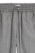 Pull-on trousers - Grey/Pinstripe - Ladies | H&M CN 3