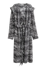 Patterned dress - Zebra print -  | H&M CA 2