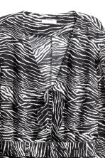Patterned dress - Zebra print -  | H&M CA 3