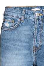 Straight Regular Trashed Jeans - Denim blue - Ladies | H&M 5