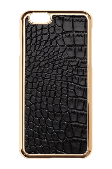 iPhone 6/6s case - Black/Gold - Ladies | H&M 1