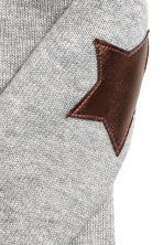 Wrapover cardigan - Grey marl - Kids | H&M 3