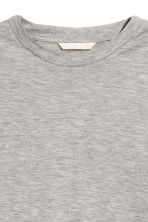 Lyocell top - Grey marl - Ladies | H&M CN 3