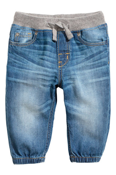 Pull-on jeans - Denim blue -  | H&M 1