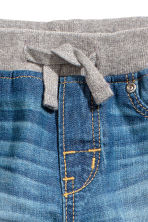 Pull-on jeans - Denim blue -  | H&M 4
