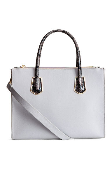 Handbag - Light grey - Ladies | H&M 1