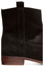 Suede boots - Black - Ladies | H&M 5