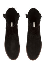 Suede boots - Black - Ladies | H&M 3