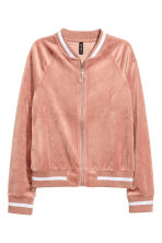 Velour cardigan - Old rose - Ladies | H&M 2