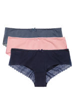 3-pack hipster briefs - Storm blue - Ladies | H&M CN 2