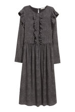 Patterned dress - Black/Spotted - Ladies | H&M CN 2