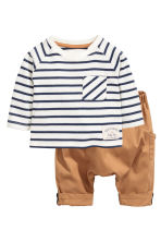 Top and trousers - Camel - Kids | H&M CN 1