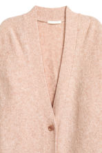 Oversized cardigan - Powder marl - Ladies | H&M GB 3