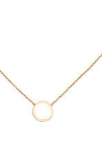 Gold-plated necklace - Gold - Ladies | H&M CN 2