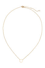 Gold-plated necklace - Gold - Ladies | H&M CN 1