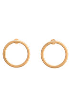 2-pack gold-plated studs - Gold - Ladies | H&M 2