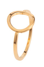 3-pack gold-pated rings - Gold - Ladies | H&M CN 2