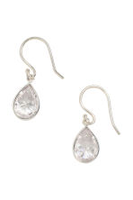 Sterling silver earrings - Silver - Ladies | H&M 1