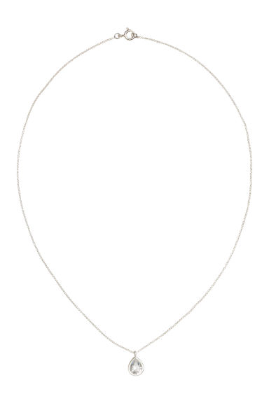 Sterling silver necklace - Silver - Ladies | H&M 1