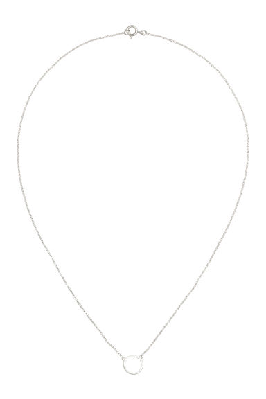 Collana placcata argento - Argentato - DONNA | H&M IT 1