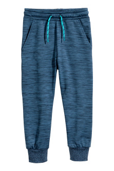 Fleece sports trousers