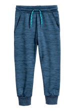 Fleece sports trousers - Dark blue marl - Kids | H&M 2