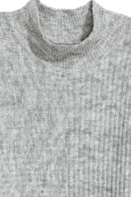 Ribbed jumper - Grey marl -  | H&M 3