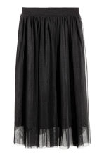 Tulle skirt - Black - Ladies | H&M IE 2