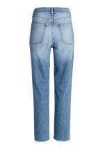 Straight Regular Relaxed Jeans - Azul denim trashed - MUJER | H&M ES 3